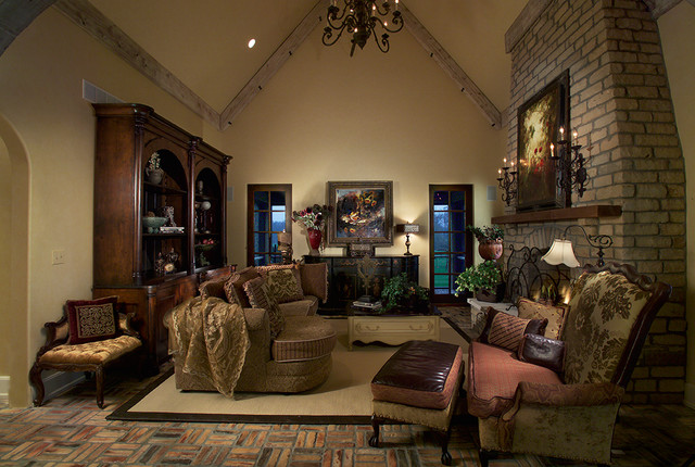 Interiors traditional-living-room