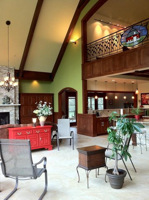 Iowa Homestead living-room