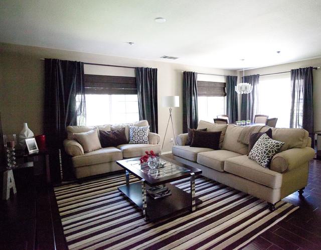 Iris ave modern living room for Avenue u living room