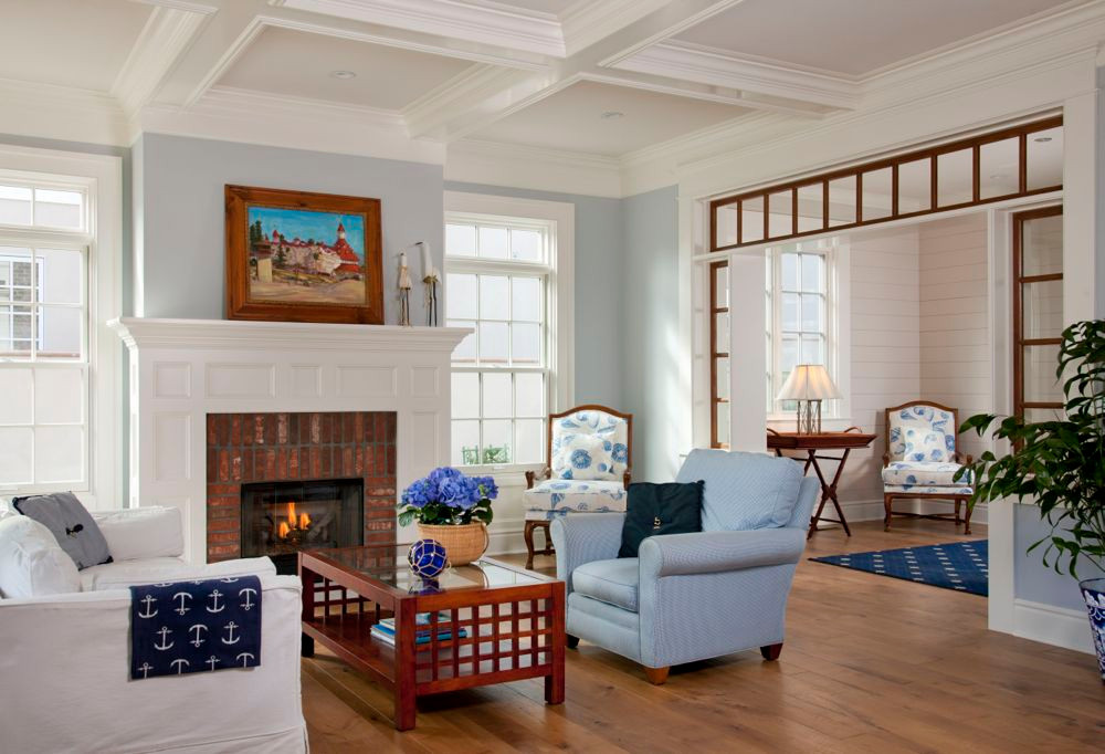 Irish Sea Living Room