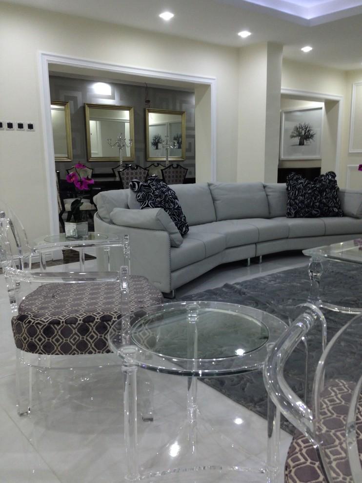 Iroko Interior Design Sa Private Residence Port Harcourt Nigeria Contemporary Living Room Other By Iroko Interior Design Consulting