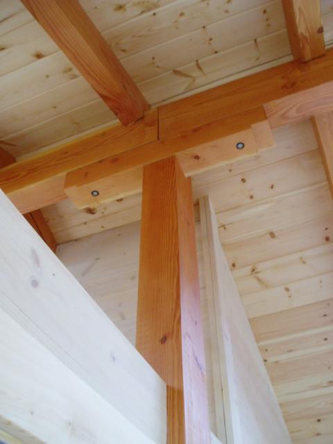 Island Cabin traditional-living-room