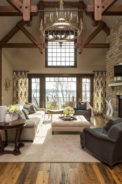 Island Road transitional-living-room