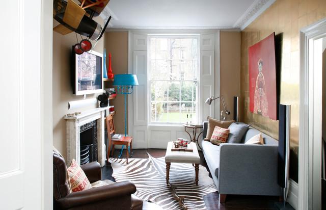 Attirant Islington Apartment American Traditional Living Room