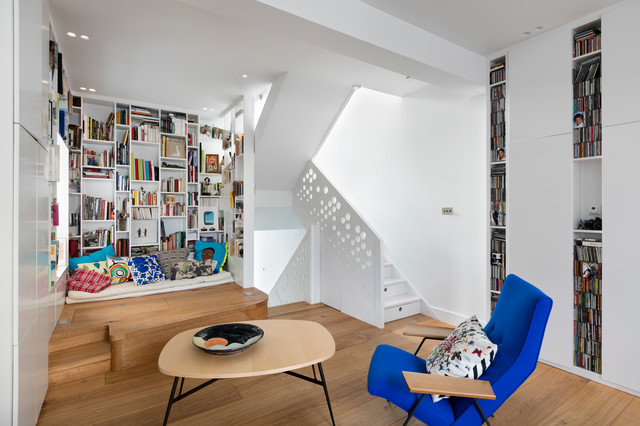 Islington Internal Remodelling Contemporary Living Room London Best Living Room Shades Remodelling