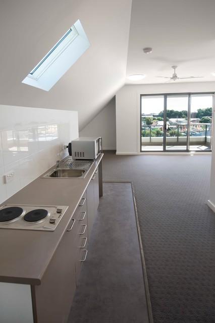 Islington Studio Apartments Contemporary Living Room