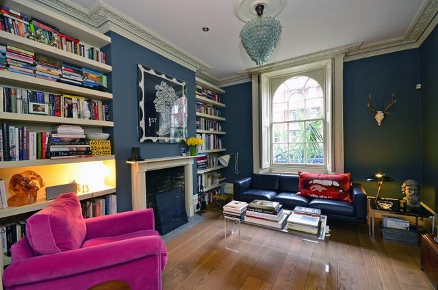 Islington Townhouse London Eclectic Living Room