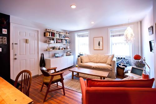 Exemplo de uma bonita decoração em apartamento pequeno