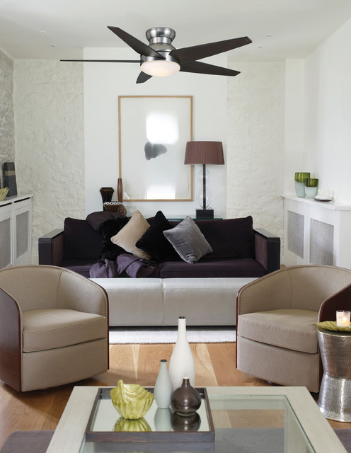 Isotope Ceiling Fan from Casablanca Fan Co - Modern - Living Room - by 1800Lighting