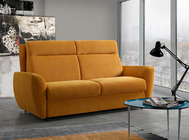 Italian Convertible Sofa Bed Zara By Il