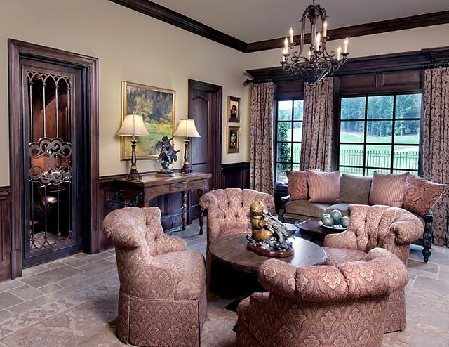 Italian Luxury Traditional Living Room Atlanta By