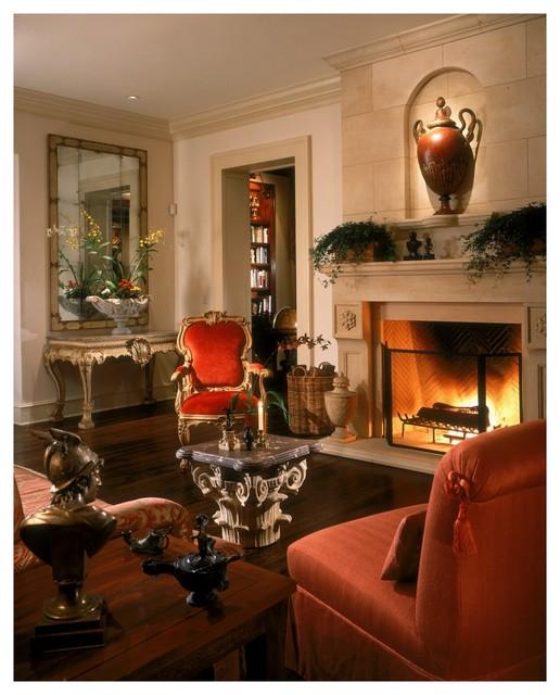 Tuscan Inspired Living Room: Italian Style Estate