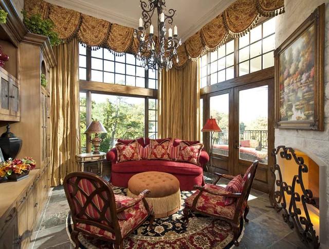 Formal Ladies Parlor Traditional Living Room Dallas