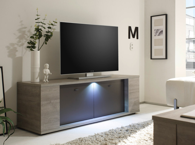 italian tv stand sidney small by lc mobili contemporary living room new york. Black Bedroom Furniture Sets. Home Design Ideas