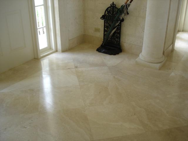 Ivory foyer eclectic living room philadelphia by for Philadelphia flooring