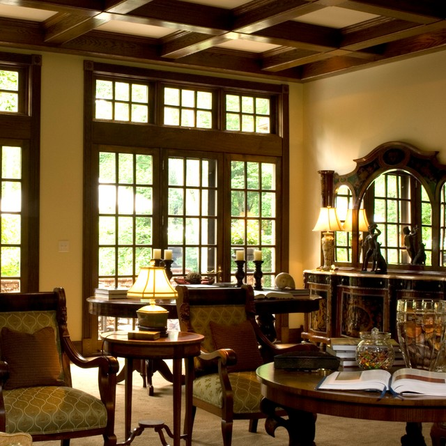 Ivy Manor, IN traditional-living-room