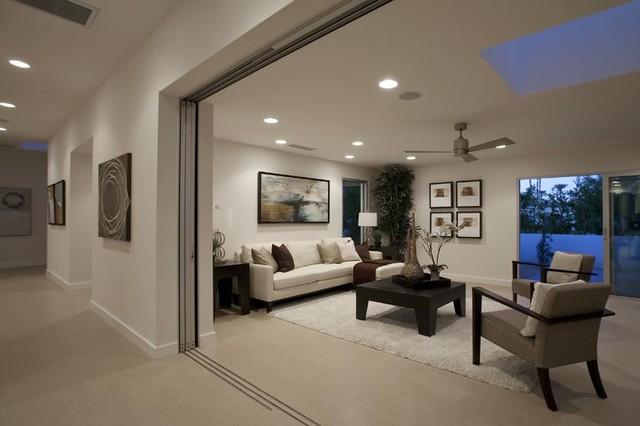 IWFH: Indian Wells Fairway Residence contemporary-living-room & IWFH: Indian Wells Fairway Residence