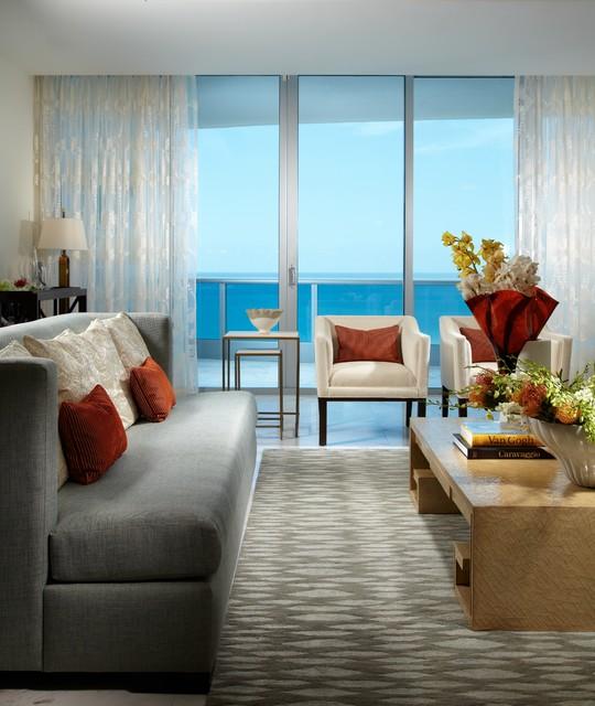 living room miami by j design group interior designers miami