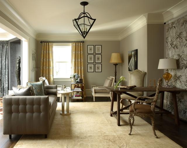 J. Hirsch Interior Design Portfolio - Traditional - Living Room - by J. Hirsch Interior Design, LLC