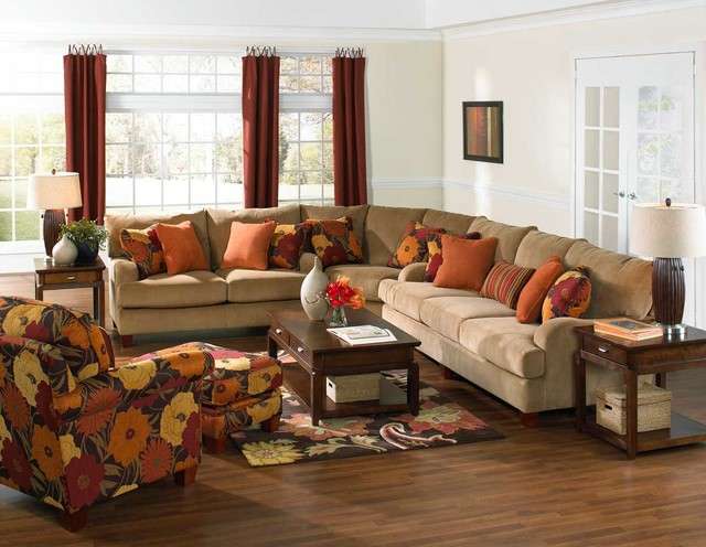 Jackson Hartwell Sectional transitional-living-room