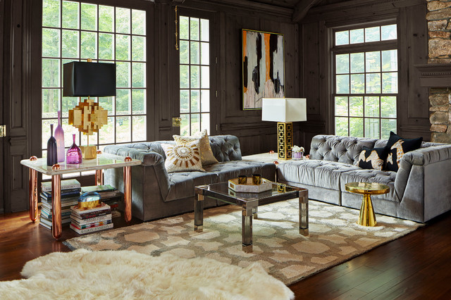 living room transitional living room new york by