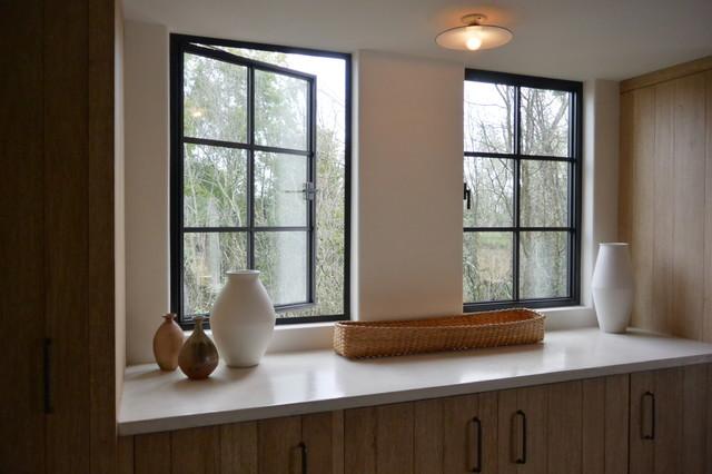 Room With Casement Windows : Jada windows steel casement traditional living