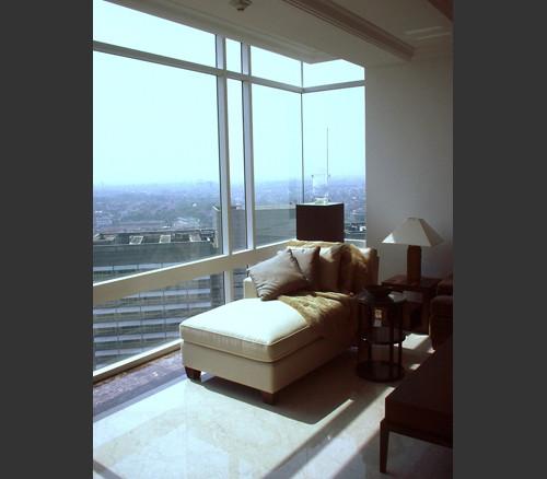 Jakarta Residence contemporary-living-room