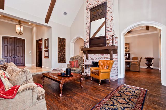 James Hurt traditional-living-room