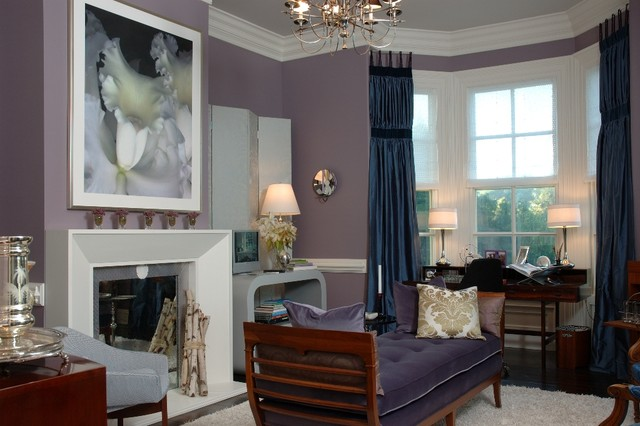 Jamesport Showhouse traditional-living-room