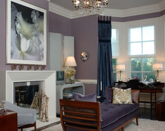 Jamesport Showhouse traditional living room