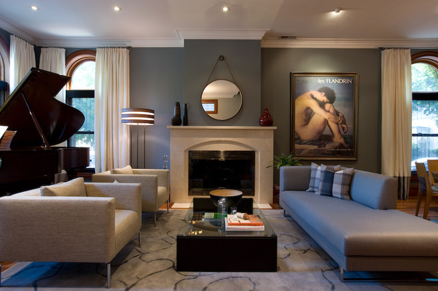 jamesthomas, LLC contemporary-living-room