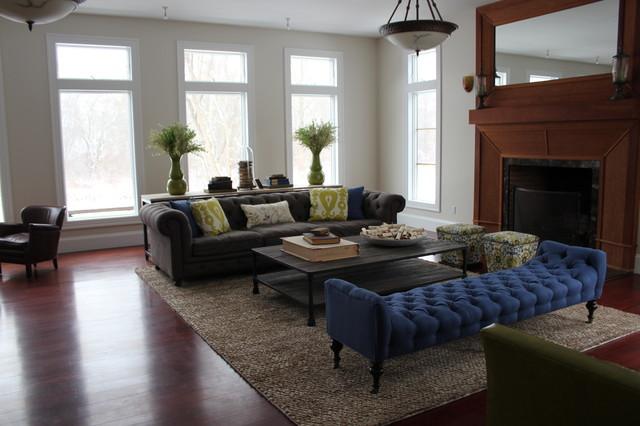 Jamestown Contemporary contemporary-living-room