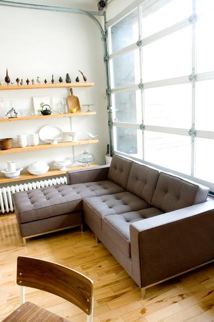 Jane Bi Sectional By Gus Modern Direct Furniture Modern Living Room Atlanta By Direct