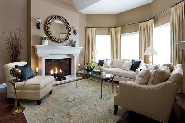 Jane Lockhart Formal Living Room Traditional