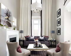 Jane Lockhart Interior Design transitional-living-room