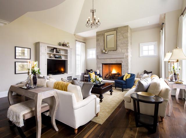 Interior designers decorators jane lockhart kylemore custom home traditional living room