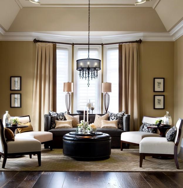 Jane Lockhart Kylemore Custom Home traditional-living-room