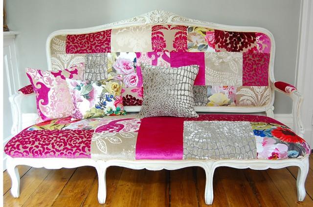 Jardin de Fleur Sofa eclectic-living-room