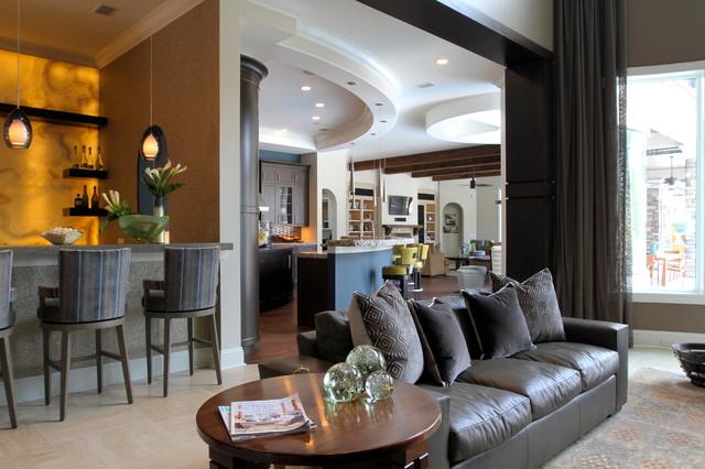 Jax Intracostal contemporary-living-room