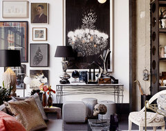 Jay Jeffers Home + Cavalier eclectic-living-room