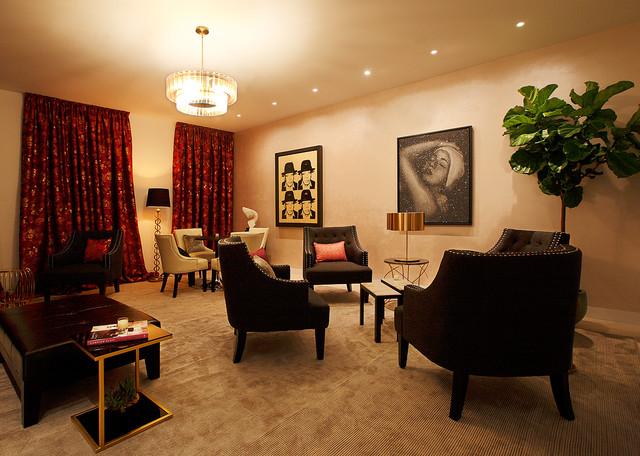 Jazz lounge designed by campion platt for sony 4k ultra for Living room jazz