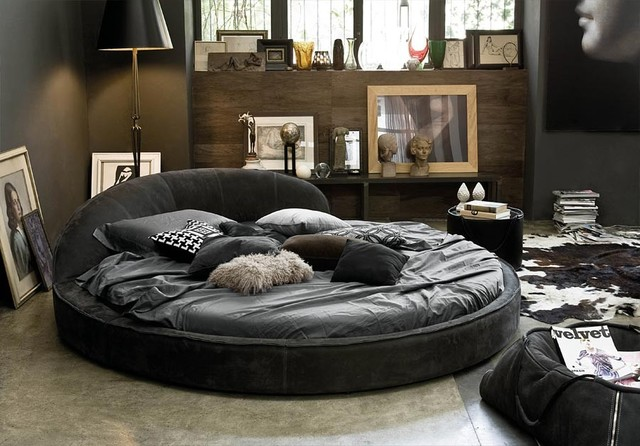 Jazz night bed by gamma international italy for International decor furniture