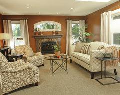 JDL Interiors Living Room contemporary-living-room