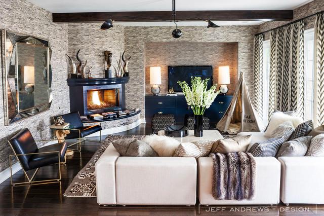 Jeff Andrews   Design Living Room