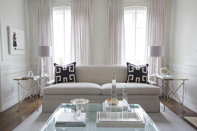 Jennifer Backstein Interiors contemporary-living-room