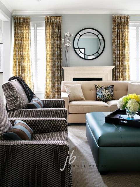 North Toronto contemporary-living-room
