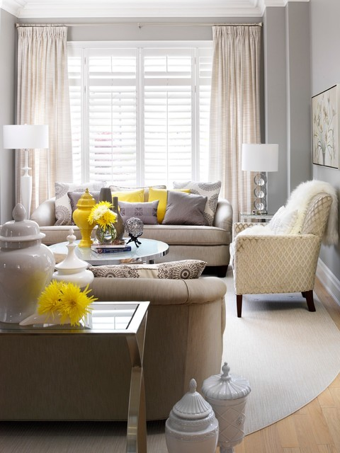 Decor By Jennifer Inc Transitional Living Room Toronto By Jennifer Br