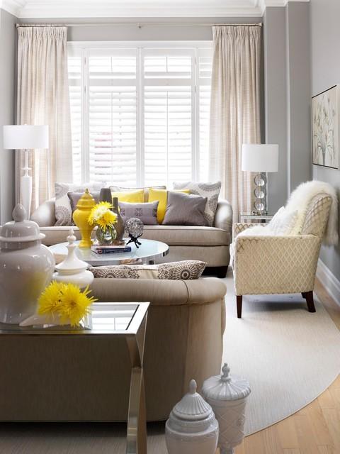Jennifer Brouwer Design Inc Transitional Living Room