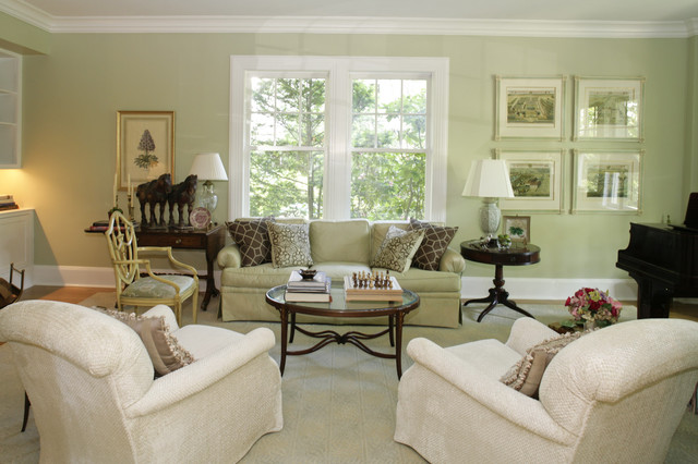 Jennifer Russo eclectic-living-room
