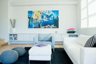 Jenny S Modern Home Modern Living Room Calgary